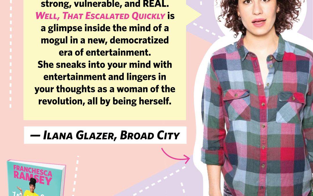 Ilana Glazer Loves WTEQ!