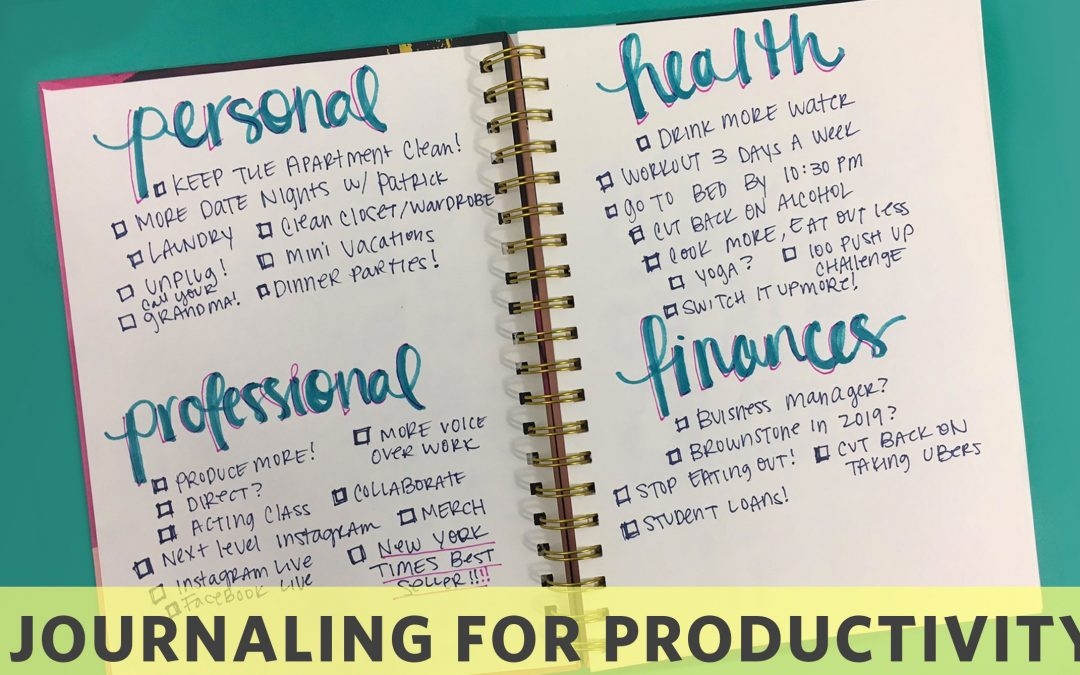 How To Journal Your Productive Year