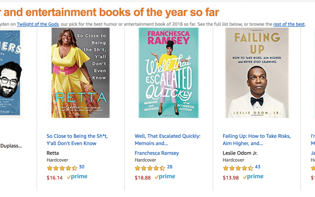 'Well, That Escalated Quickly' is One of Amazon's Best Books of the Year